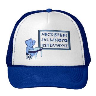 Blue Bear's Toolbox Alphabet Cap