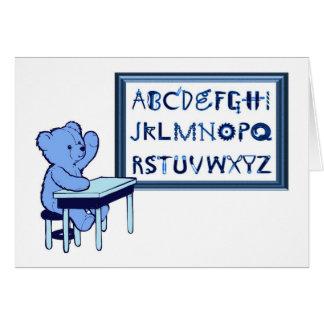 Blue Bear's Toolbox Alphabet Card