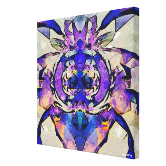 Blue Bee Canvas Print