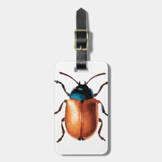 Blue Beetle Luggage Tag