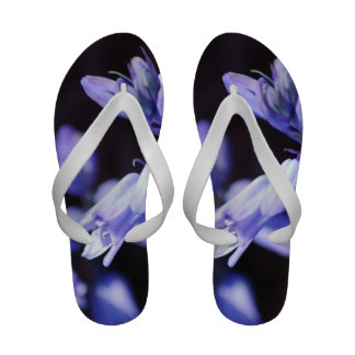 Blue Bell Flowers Flip-Flops