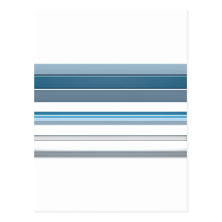 Blue bench postcard