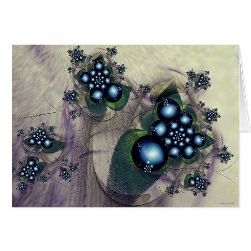 blue berries card