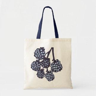 Blue Berries Modern Designer Tote Bag Buy Online