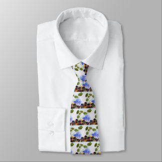 Blue Betta Fish Tie