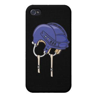 blue bike helmet iPhone 4/4S cover