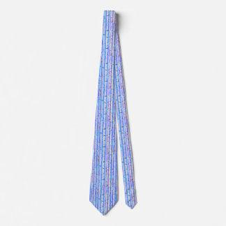 Blue Birch Abstract Design Tie