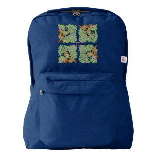 Blue Bird Back Pack