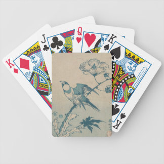 Blue Bird Bicycle Playing Cards