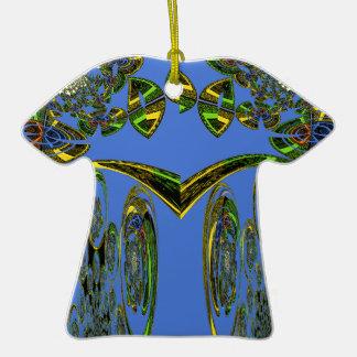 Blue bird ceramic T-Shirt decoration