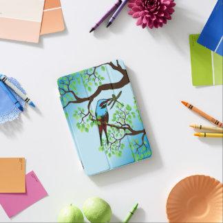 Blue Bird in Trees iPad Mini Cover