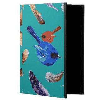 Blue Bird iPad Air 2 Case with No Kickstand