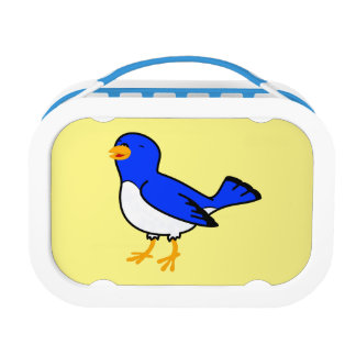 Blue Bird Lunch Box