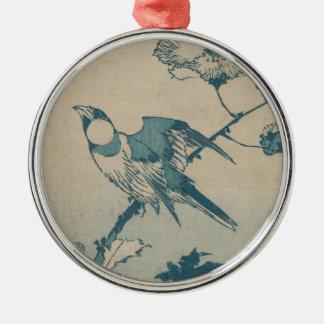 Blue Bird Metal Ornament