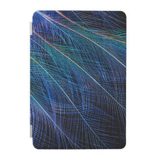 Blue Bird Of Paradise Feather Abstract iPad Mini Cover
