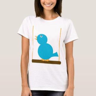 Blue Bird on a Perch Shirt