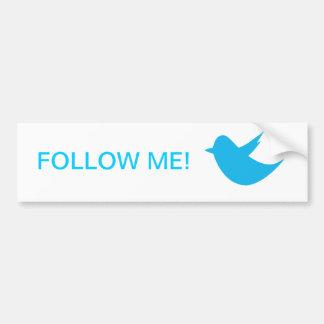 Blue Bird Social Media Bumper Sticker