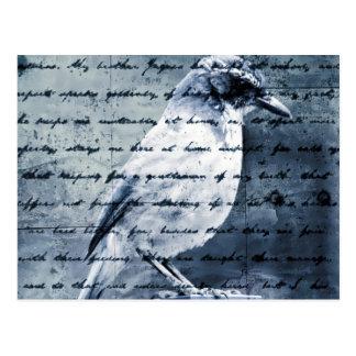 Blue Bird Song Postcard