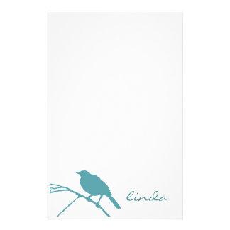 Blue Bird Stationery - Personalize
