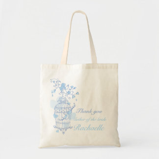 Blue bird wedding Mother of the bride bag