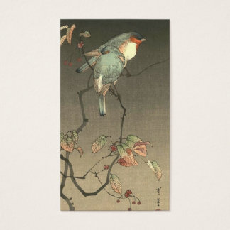 Blue Birds at Night by Seitei Watanabe 1851- 1918