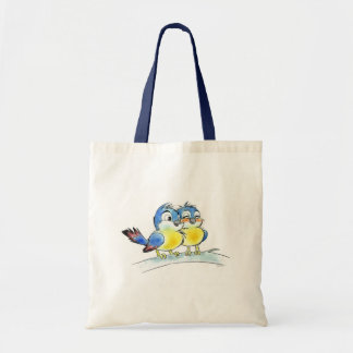 Blue birds bag