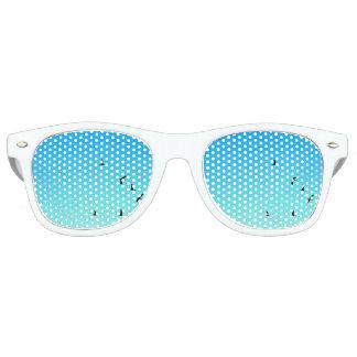blue birds party shades