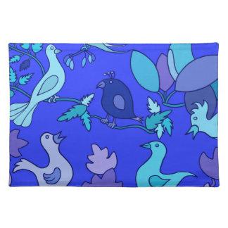 Blue Birds Placemat