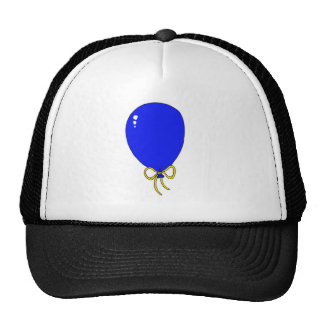 Blue Birthday Balloon Design Hats