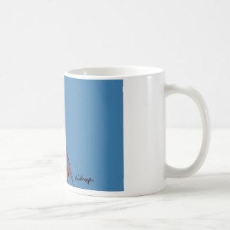 Blue bishop classic white coffee mug