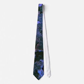 Blue/Black Crystallized Tie