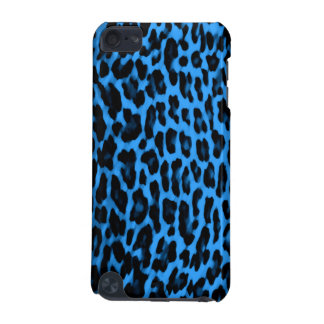 Blue & Black Leopard Print iPod Touch (5th Generation) Covers