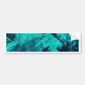 Blue-Black painting Bumper Sticker