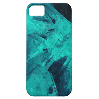 Blue-Black painting Case For The iPhone 5