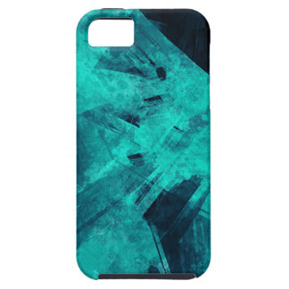 Blue-Black painting iPhone 5 Cover