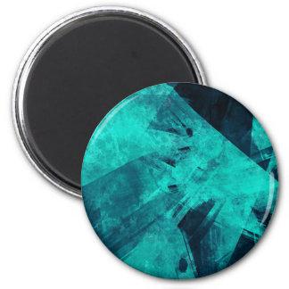 Blue-Black painting Magnet