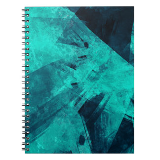 Blue-Black painting Notebook