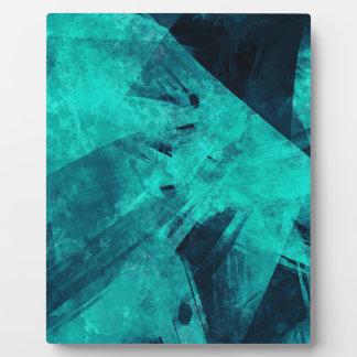 Blue-Black painting Plaque
