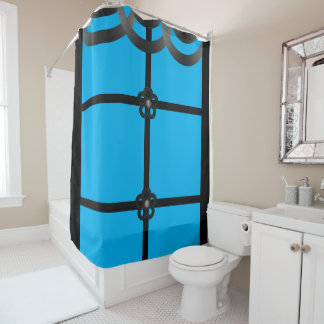 Shower Curtains black and blue shower curtains : Black And Blue Shower Curtains | Zazzle.com.au