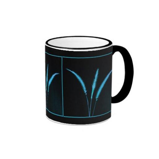 Blue Blades Coffee Mugs
