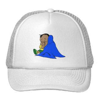 Blue blankie cap