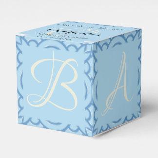 Blue Block Favour Box