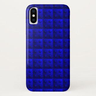 Blue blocks pattern