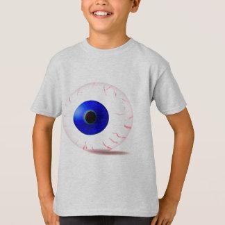 Blue Bloodshot Eyeball T-Shirt