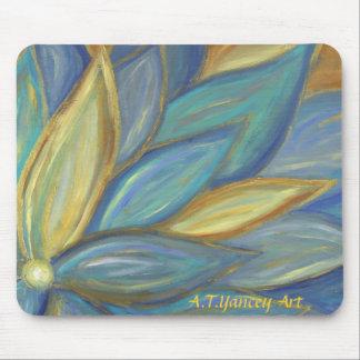 Blue Blossom Mousepad