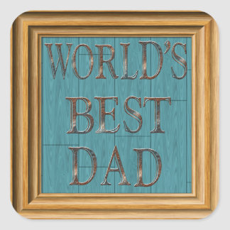 Blue Boards Father's Day Sticker