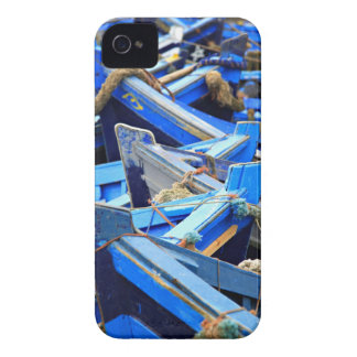 Blue Boats iPhone 4 Case