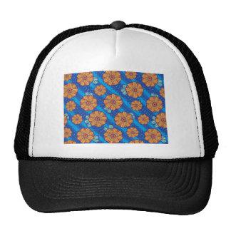 Blue Boho Blossoms Cap