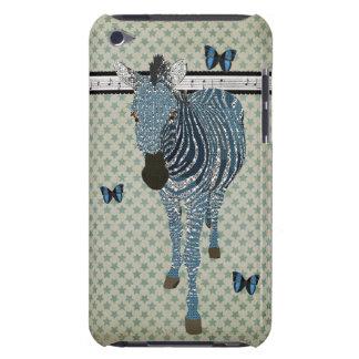 Blue Boho Butterflies & Zebra Stars Case iPod Touch Case-Mate Case