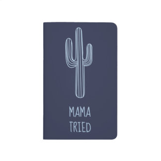 Blue Boho Mama Tried Cactus Journal